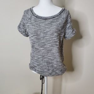 Lou&Grey cinched waist top size M
